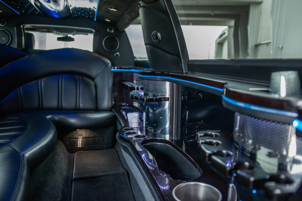 Avant Garde Limousines Lincoln MKT Inside Limo Picture