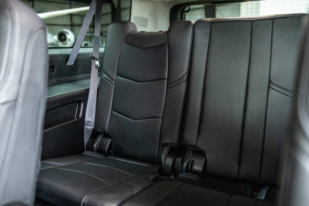 Avant Gard Limousines Inside Cadillac Escalade