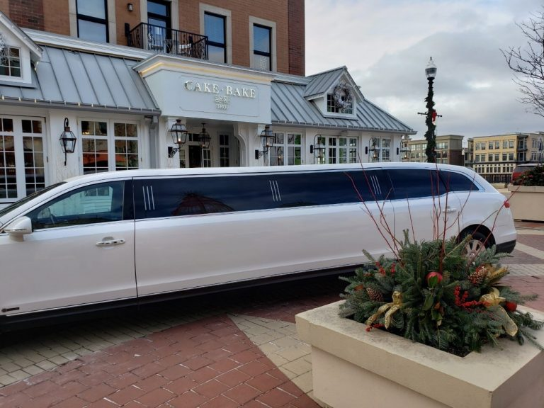 Drivers Side of Lincoln MKT Limo for Avant Garde Limousines