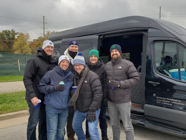 Sporting Event by Transit Sprinter Limo for Avant Garde Limousines
