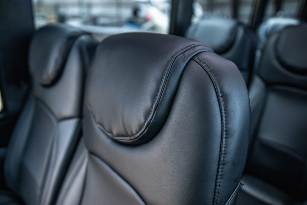 Interior Seating Head Rest of Executive Mini Coach for Avant Garde Limousines