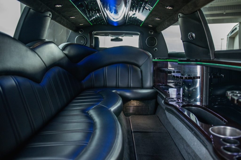 Interior Finish of Lincoln MKT Limo for Avant Garde Limousines