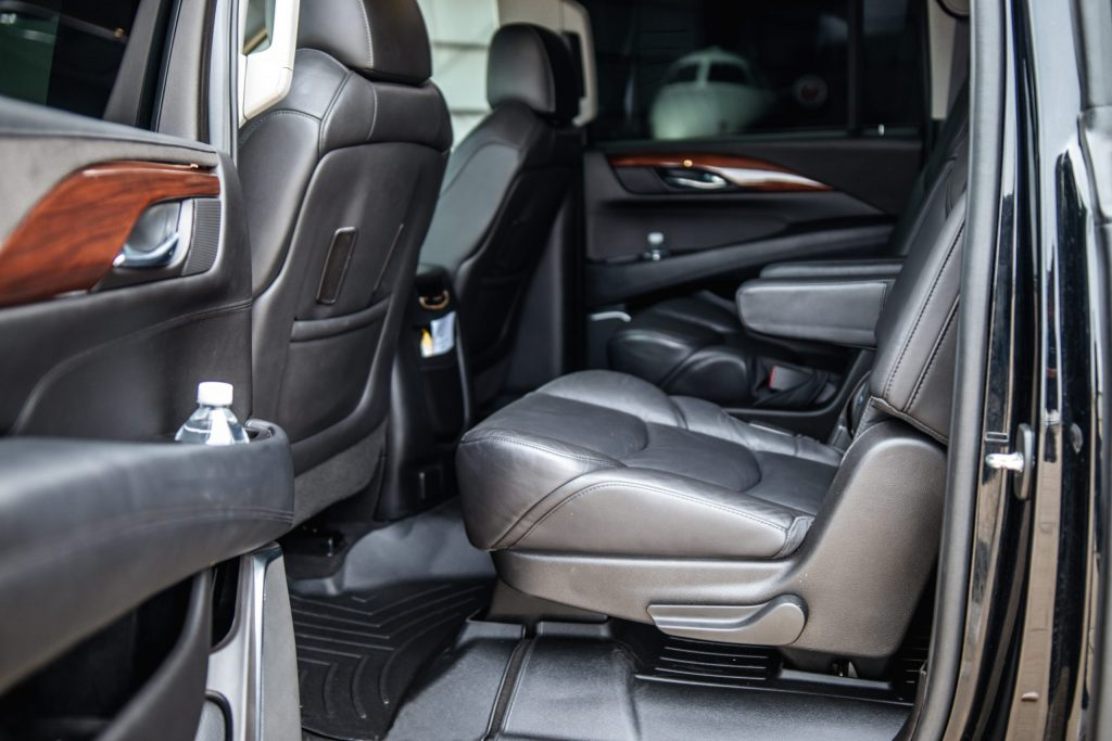 Interior Seating of Cadillac Escalade for Avant Garde Limousines