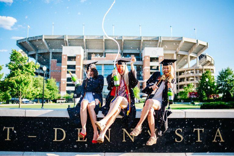 Graduation Ladies Group Transportation for Avant Garde Limousines