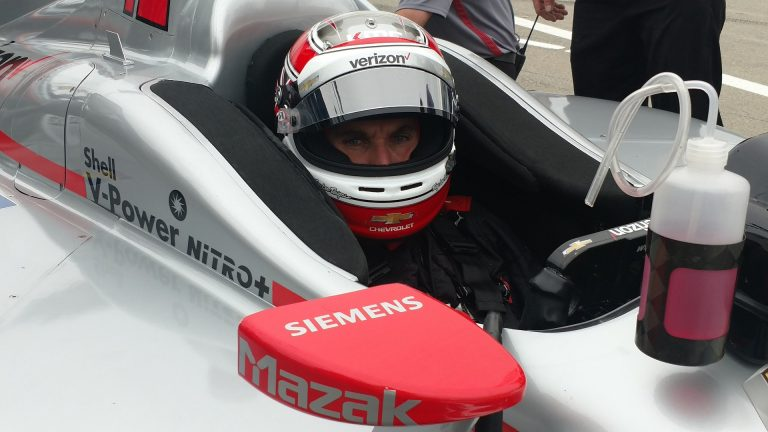 Driver of Verizon Car Indy 500 Event Transportation by Avant Garde Limousines