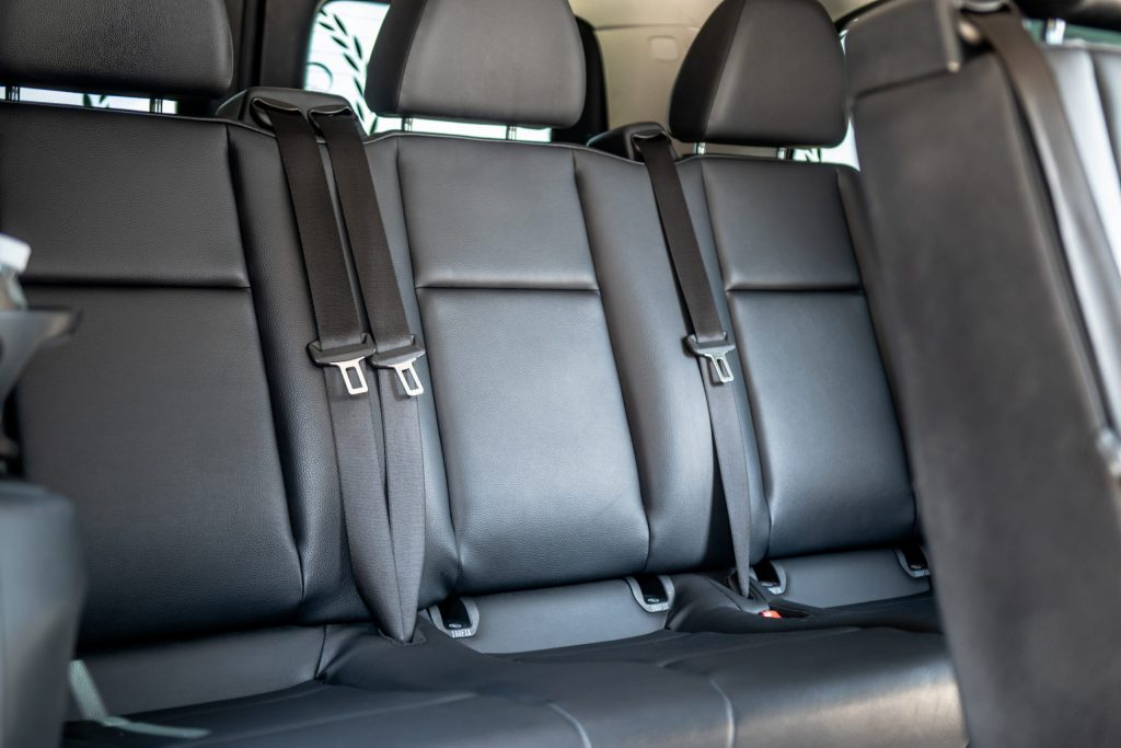 Mercedes Metris back seats